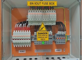 8IN 8OUT DC FUSE BOX