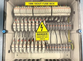 18IN 18OUT FUSE BOX